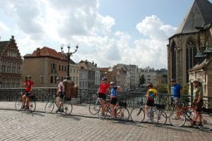 Viaje en bicicleta por Bélgica